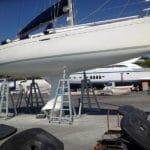 Cavalletto a inclinazione regolabile per tutti i tipi di barche a vela