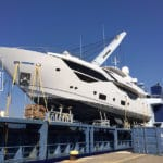 Modulo per trasporto barche su navi