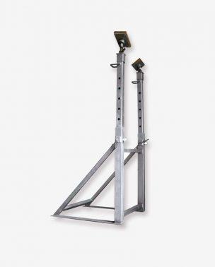 Puntello verticale doppio telescopio