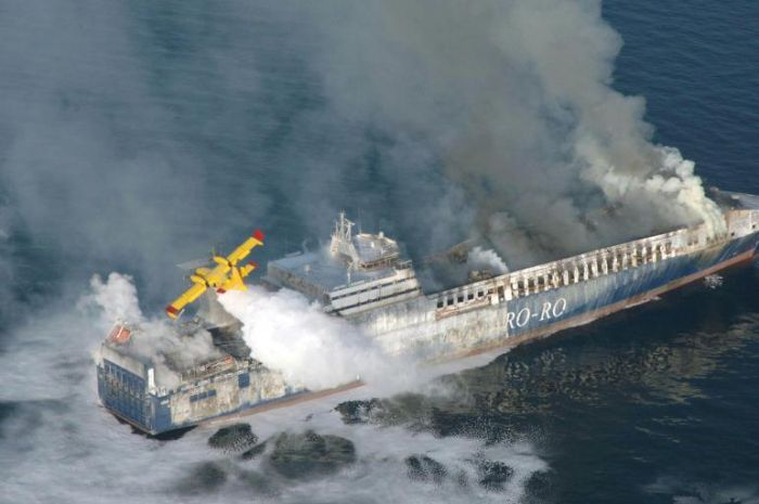 Norman Atlantic incendio