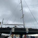 IInvaso per barche a vela trasportabile con carrellone motorizzato CNG Shipyard – Cantieri Navali Genovesi