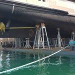 I nostri cavalletti ai Cantieri navali Sanlorenzo