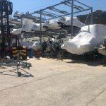 Il nostro scaffale portabarche da SC Marine