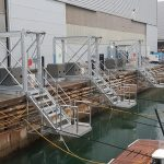 The special Naval Tecno Sud gangways
