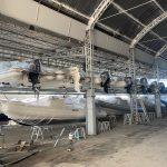 Scaffale per barche